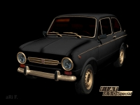 Fiat 850 Special in Mixed media photography