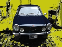 Fiat 850 Coupe - Oldtimer vintage cars photography